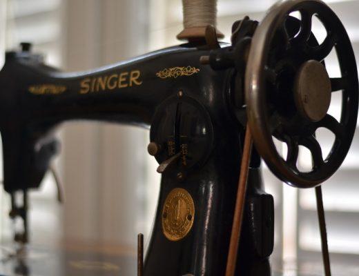 Ma machine à coudre Singer